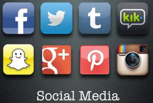 Social Media First SLide